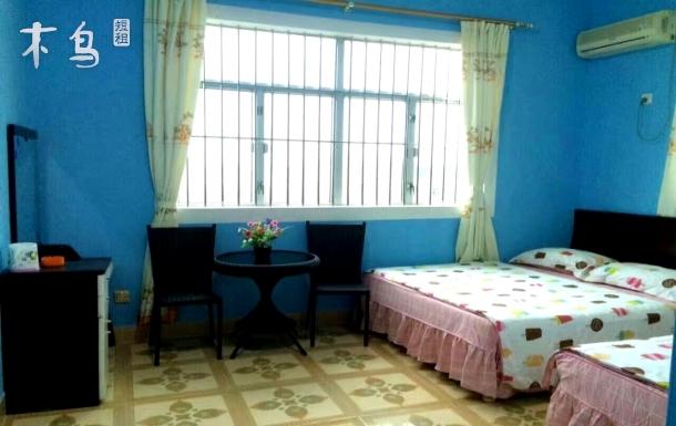 深圳西冲沙滩榕树独栋房子包场可住25人烧烤唱歌麻将桌游聚会