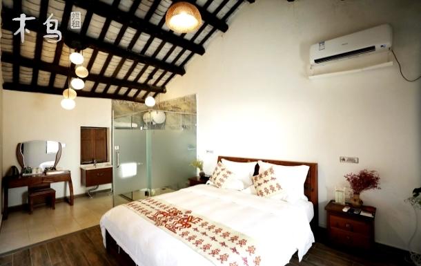 三亚民族风情五椰级中寥村*传统黎家大床房~近亚龙湾呀诺达槟榔谷传统黎家