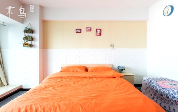 武汉天地北欧风格整套一居独立卫生间可以做饭