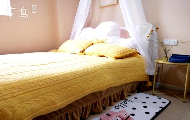国际机场附近2居室套房温馨特色民宿