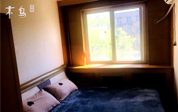 8号/13号/S2号霍营地铁阳光温馨大床卧室