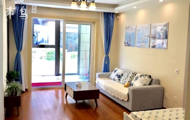 上海海昌海洋公园滴水湖三室两厅公寓可做饭