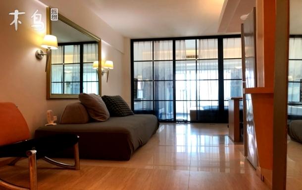 国际海水浴场山东大学日式舒适两居