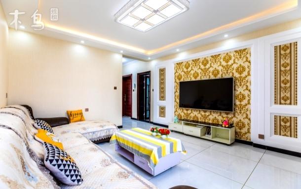 避暑山庄、普宁寺、小布达拉宫景区附近豪华装修民宿、免费停车位、房屋是三楼