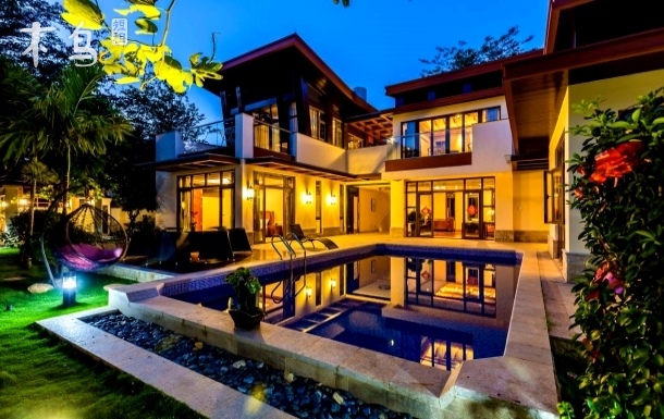 亚龙湾豪华5居独栋泳池别墅