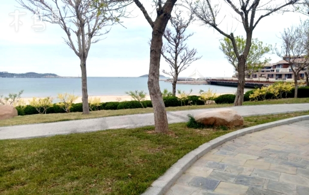 葡萄滩海水浴场两居欧式清新风格民宿、亲海,便利、温馨  国际海水浴场
