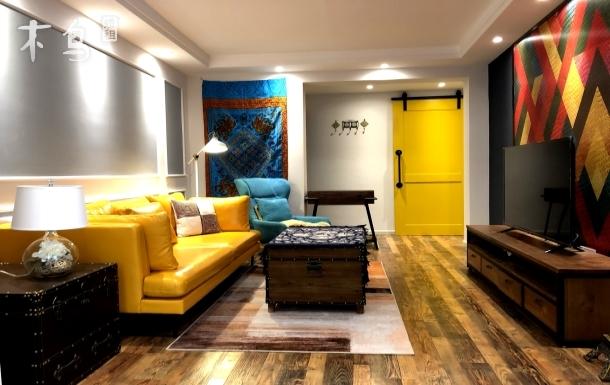 【苹果小屋】毗邻翠湖 市中心全新浪漫套房 #超大厨卫•榻榻米•空间私密#
