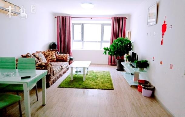 北关时尚温馨大两居室,阳光大飘窗