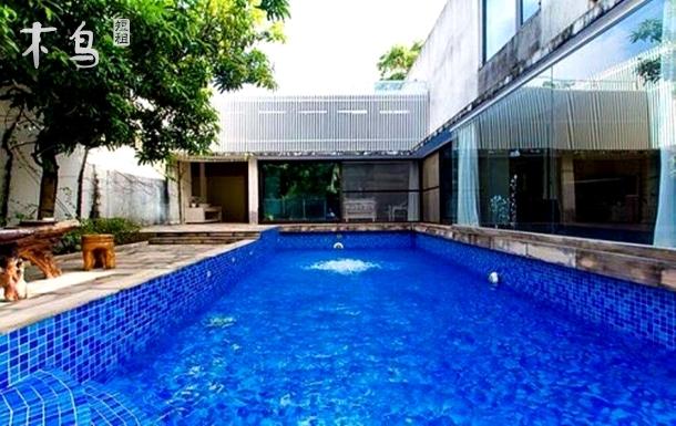 诗意海南-临海别墅 半山半岛独栋别墅 带花园游泳池 私密性强 温馨的庄园生活