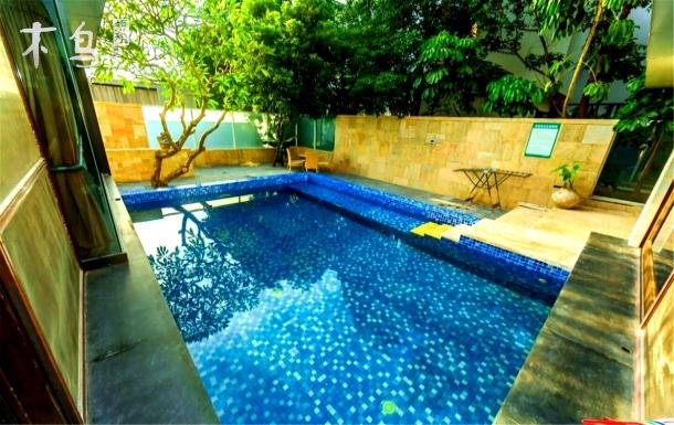 诗意海南-半山半岛5居450平热带雨林独栋泳池别墅 结伴出行的好旅居