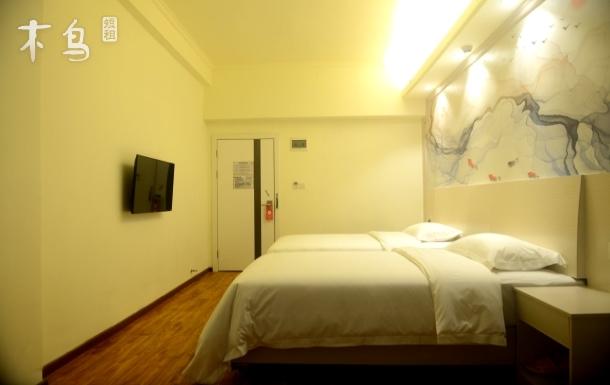 大航国际公寓双床房,佳华领汇广场,五和地铁站
