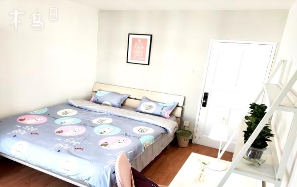 劲松双井富力城 可爱清新风格两居室