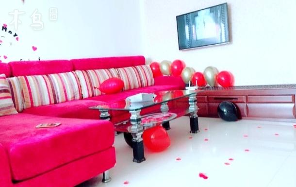 经典舒适大床温馨公寓