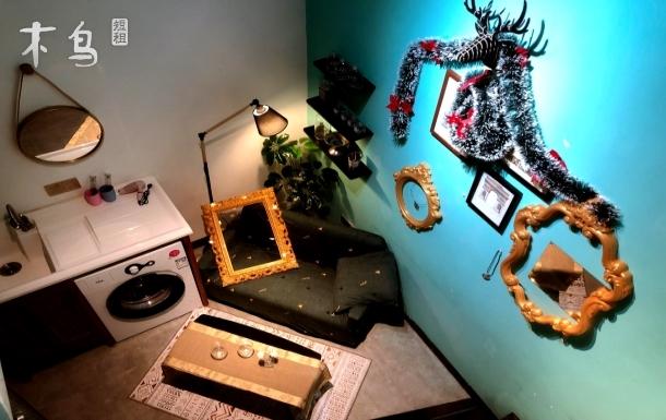【世外 • 桃源】『复古风情』地铁纪念堂地铁口|Loft复式|中山纪念堂|上下九步行街|北京路|双人