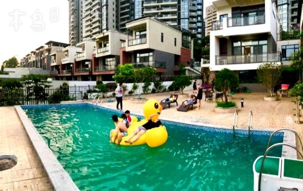 从化富力泉豪华8房大花园,轰趴泳池别墅