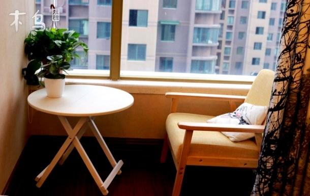 西湖文化广场/打铁关地铁口高档公寓/近西湖/和平广场双床房