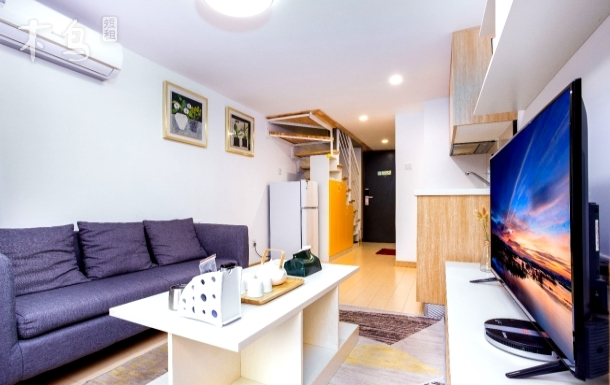 广州天河万科米酷火炉山森林公园·【维希公寓】·Loft复式公寓