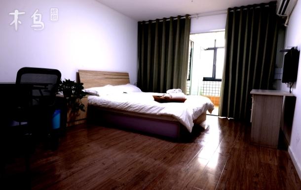 万达附近阳光充沛的大床房整租