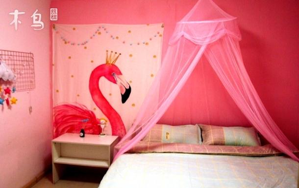 迪斯尼 新国际博览中心粉色火烈鸟—欣约之家