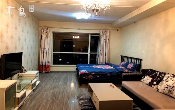 大成国际短租公寓,温馨舒适、近地铁、智能家居