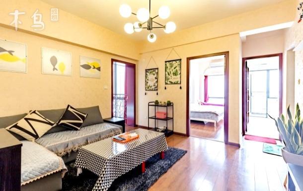 A new house【太古里ifs】【地铁3、4直达】双卧套房,全新双空调,可住4人,24小时热水