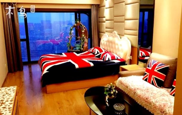 个性独特 英伦欧式主题大床房