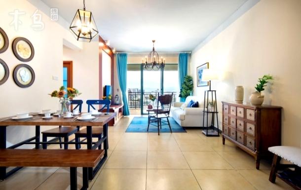 【忆宿●蔚蓝】2室2厅1厨1卫1海景阳台