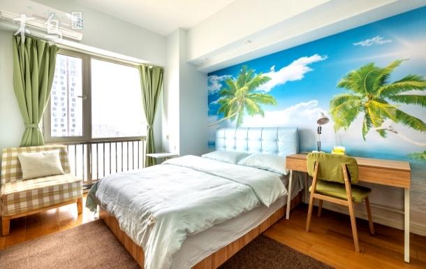 周浦万达广场舒适一居室/毗邻迪士尼/地铁站
