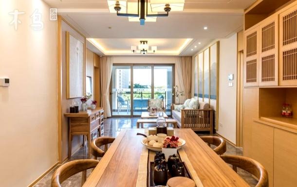 『我在三亚天气晴』新中式观海两居室配私人管家•禅修冥想