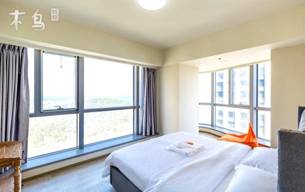 【橙途】海水浴场/林海公园/高层海景一居