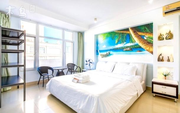 【椰海时光】近海边·海月广场海景一居室+做饭免费·近一日游接送点·送免税店免费接送