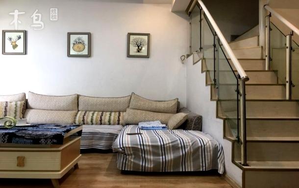 现代轻奢复式公寓