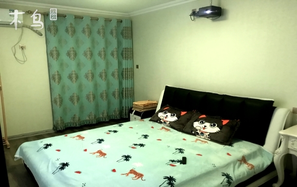 津南巨幕观影大床房
