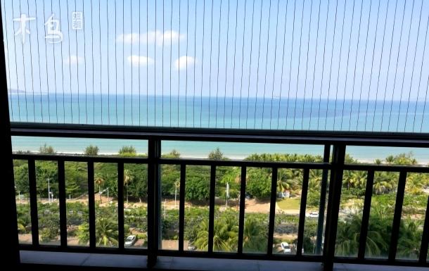 三亚湾 蓝色海岸 正面全海景两居室套房