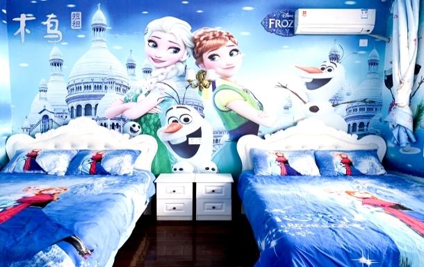 冰雪奇缘双床房