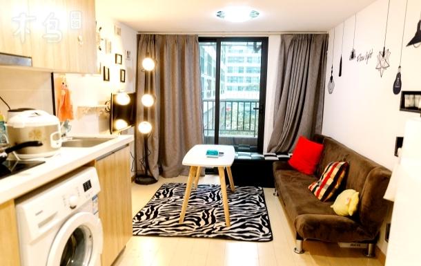 【遇见·桃花源】独享整套LOFT公寓|万科广场商圈一站式高品质生活体验|优质厨房精致美食+爱奇艺会员