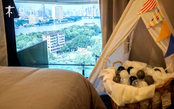 芳村地铁口江景波西米亚风ins网红打卡吊椅个性舒适时尚潮流民宿
