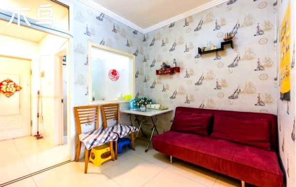 三亚蓝海港湾度假公寓 独立一室一厅蜜月套房