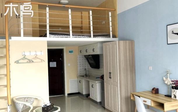 火车站附近丰禾国际精装简欧复式公寓