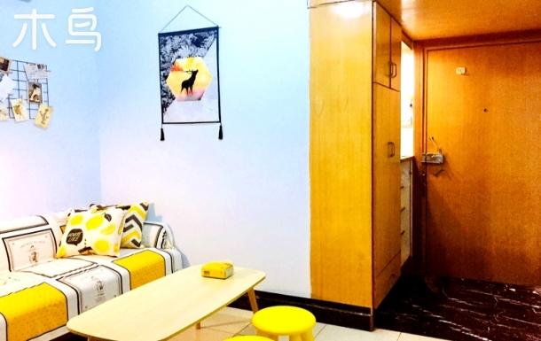 【钟探の家·升阳】福田罗湖交界高温馨一房一厅,门口公交,超赞!