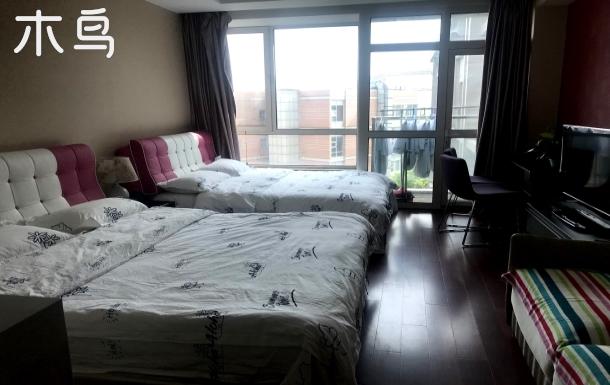 【妮妮】天安门旁地铁口2~4人双床房