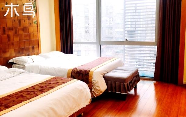 珠江新城商业中心 潮流时尚双床房