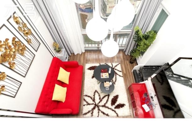 豪华loft两居,六号线,直达南锣古巷