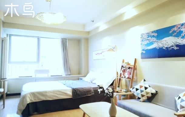 林肯公园C区日式风格精品大床房。