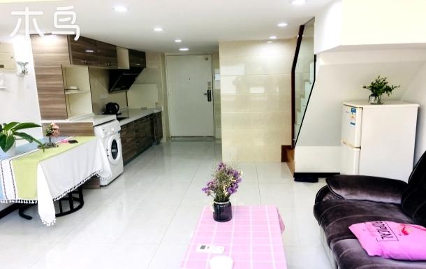 国展首都机场温泉休闲中心温馨loft家庭双床房