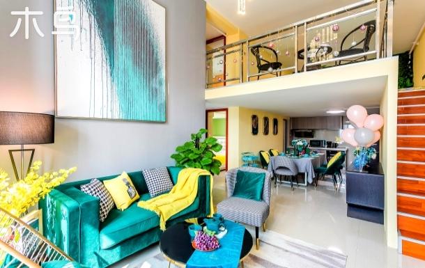 长隆168方四房六床复式公寓-追逐奢华