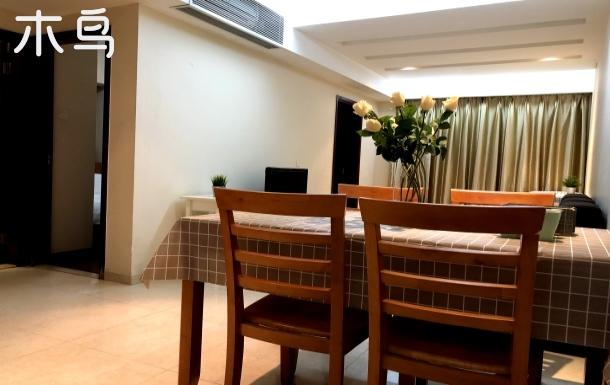 世界之窗/欢乐谷/益田/地铁口两卧室公寓