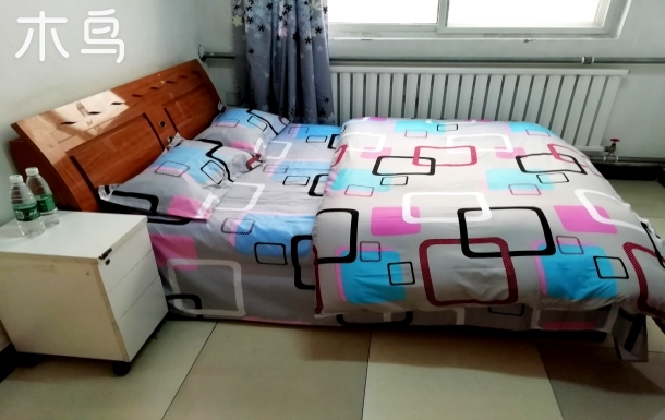 沙河地铁阳光充沛大床房