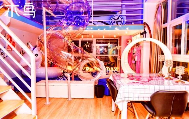 自动麻将机可做饭,月亮吊椅私人影院,情侣生日求婚浪漫滑梯,长阳地铁站,