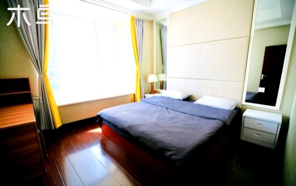 舍之•No.2国际海水浴场林海公园旁公寓楼温馨两室一厅有海有松林